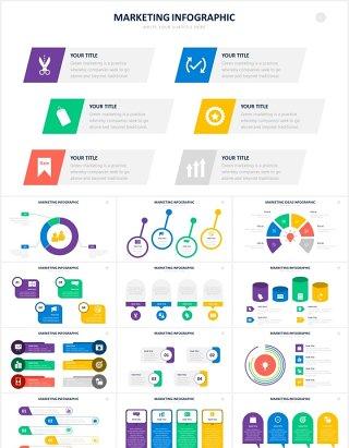 市场营销数据销售信息图表PPT素材Marketing Powerpoint Slides