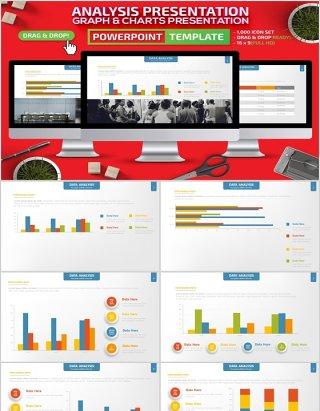 数据分析PPT演示模板可插图片Analysis Powerpoint Presentation Template