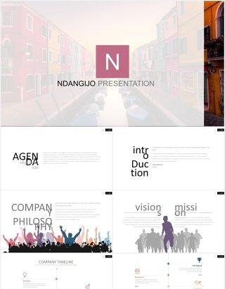 商务手机电脑模型目录列表PPT图表模板素材NDANGIJO