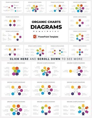 18款关系图营销模型工具的结构PPT信息图表矢量元素多套配色
