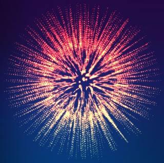 科技粒子扩散图形矢量素材-17