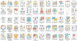 高品质的图标,随时可用,简单,独特,一致,可编辑,启动图标
