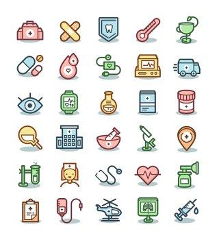 医疗图标互联网矢量UI素材icon