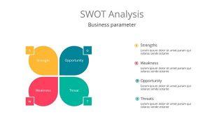 彩色SWOT关系PPT-20