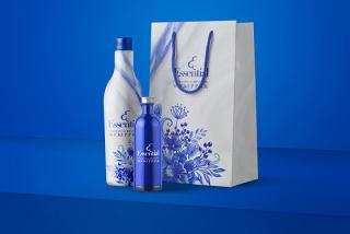 平面VI设计提案、包装盒、瓶子、纸袋智能贴图样机场景模板PSD素材10
