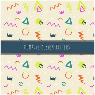 简约线条几何元素孟菲斯风格背景设计