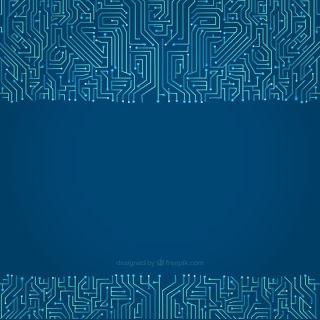 科技感线路设计素材科幻线路欧美电线背景素材