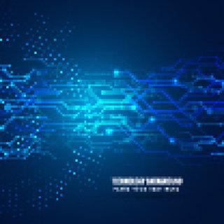 现代创意智能科技素材背景电子科技素材