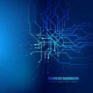 酷炫创意智能科技背景线路素材文件