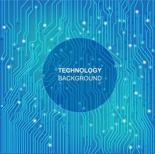 创意个性电子科技素材科幻线路背景素材文件