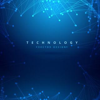 科技感科幻线路智能科技背景素材