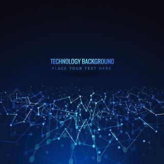 科幻创意个性线路电线背景智能科技背景素材