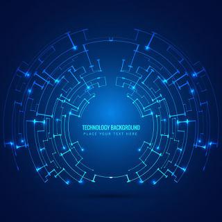 电子科技素材线路背景图案科幻线路智能线路背景