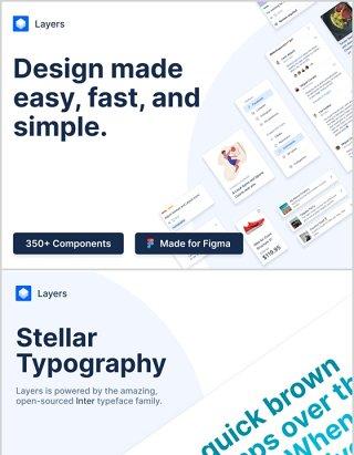 分层Figma设计系统是一个包罗万象彻底的记录Layers - Figma Design System