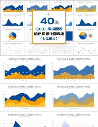 40页EXECL数据图表信息可视化图表集