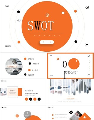 优势分析SWOT竞争分析产品公司总结分析