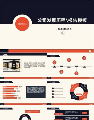 公司发展历程报告时间轴