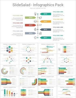 250款时间轴PPT图表流程图分析图竞争对手分析企业报告