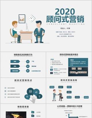 公司销售顾问式营销培训PPT课件模板